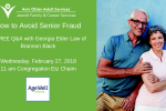 Agewell avoiding senior fraud (3)