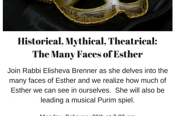 Historical, Mythical, Theatrical_The Many Faces of Esther