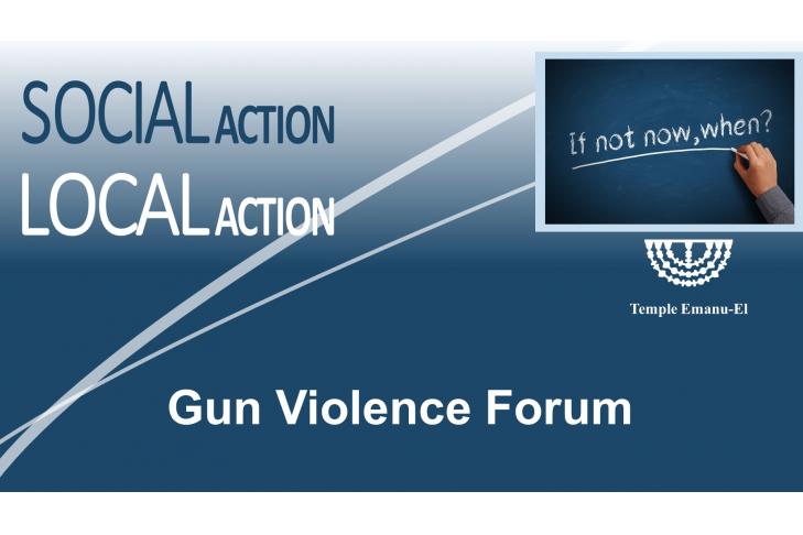 Gun Violence Forum 3.18.18