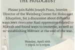 Holocaust Program