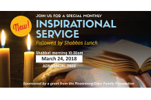 inspirational service march 2018
