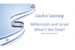 Israel and Millennials