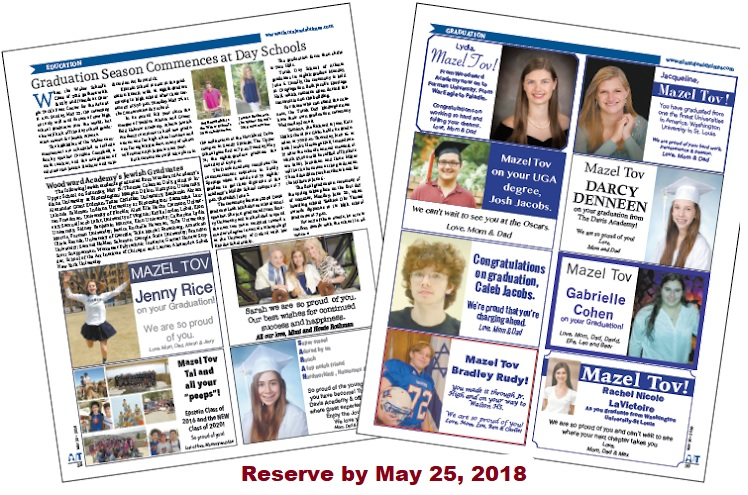 Graduation Announcements May 25