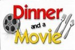 dinner and movie graphic