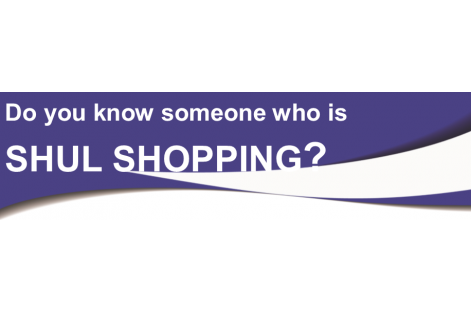 shul shopping graphic