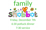 Family shabbat Dec 2018