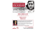 Eva Schloss Event Flyer 1.21.19
