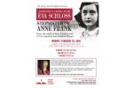 Eva Schloss Event Flyer 1.21.19