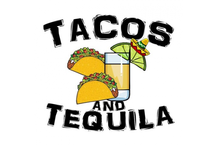 tacos and tequila graphic