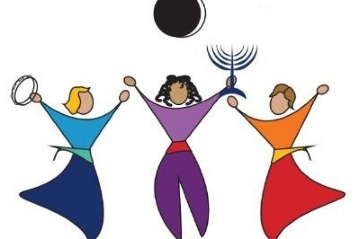 womens rosh chodesh graphic