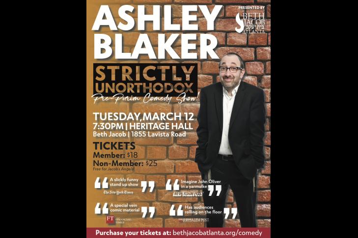 Ashley Blaker Comedy Show 2019