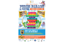 Purim Parade and Festival Flyer 2019