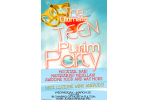 purim flyer teens