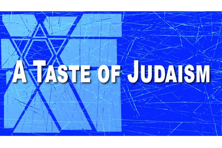 A Taste of Judaism Banner
