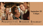 Prospective Member Shabbat Slide Date for Website Slider Sept. 20