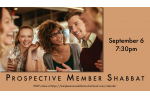 Prospective Member Shabbat Slide Date for Website Slider Sept. 6