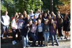 High school students attend the CIE/ISMI Teen Israel Leadership Institute in October 2018.