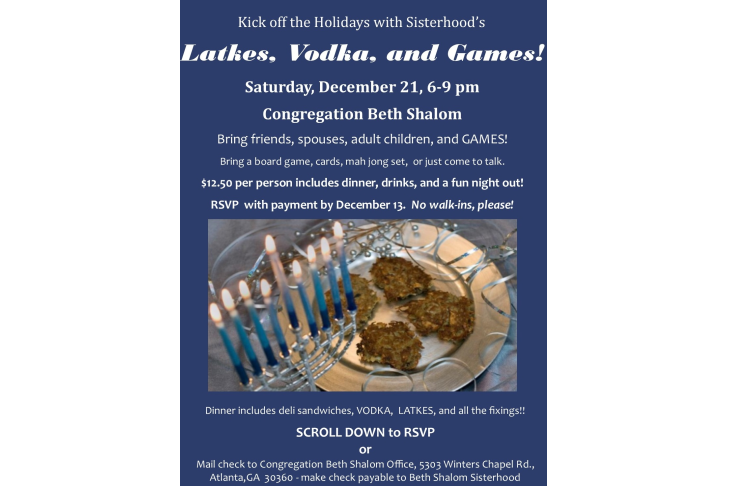Latkes and vodka for shulcloud REVISED