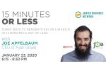 15 mins less