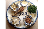 Passover Seder Plate photo