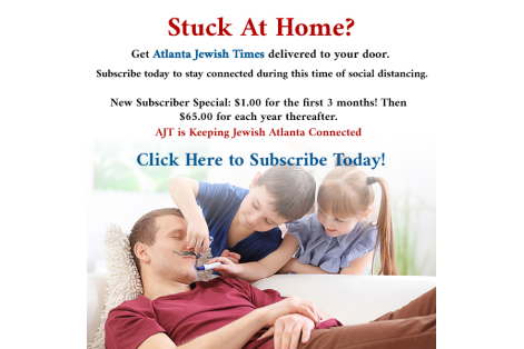 Stuck at home ad newsletter 2