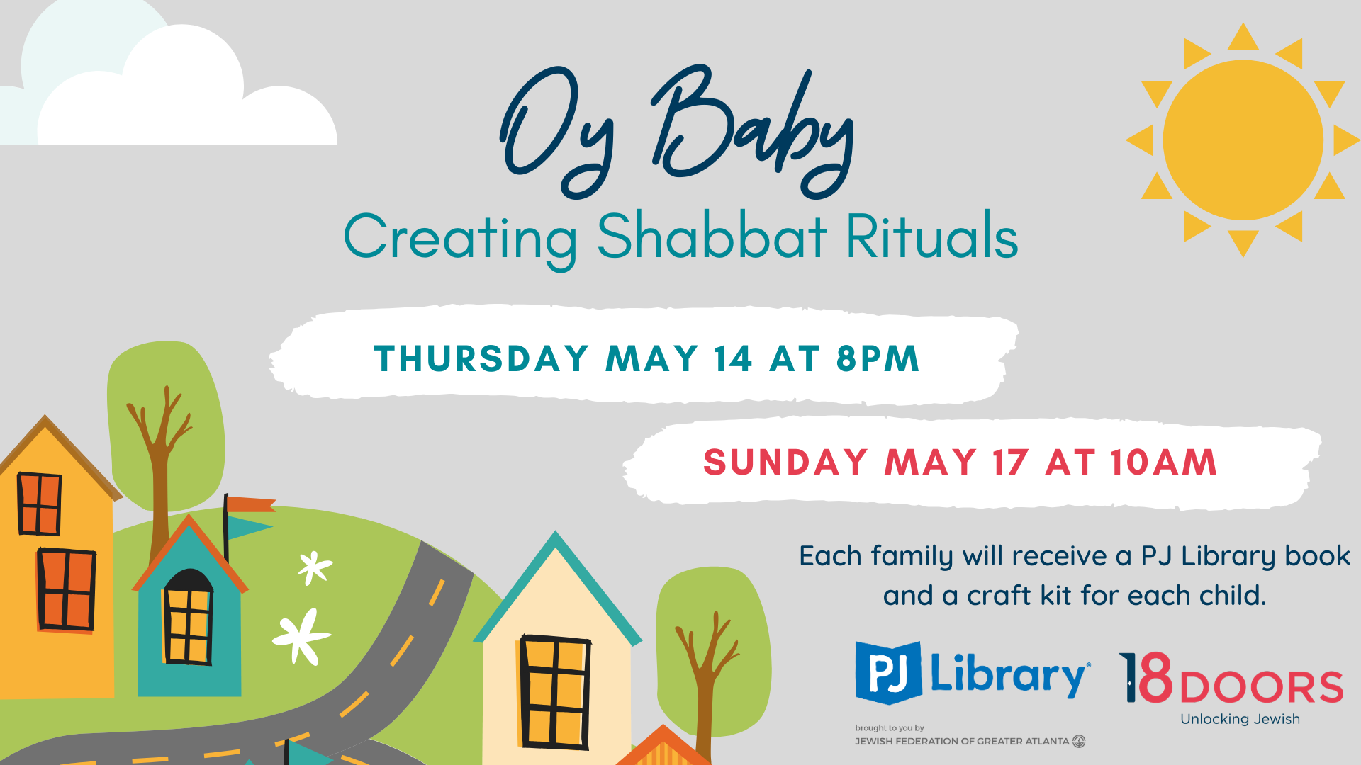 Facebook Event Cover Photo Oy Baby Creating Shabbat Rituals