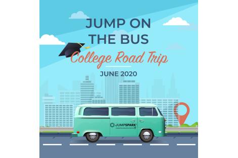 Bus_Poster(JumpSpark-logo-on-door)