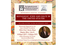 Sephardic Jews and Race Sponorship Program July 2020