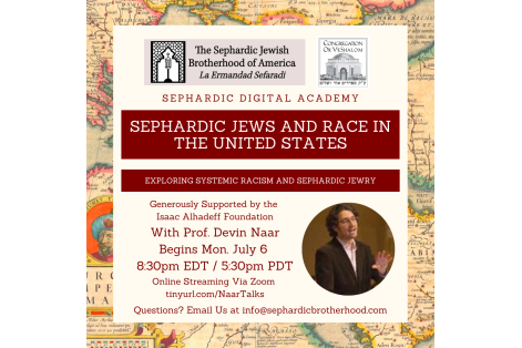 Sephardic Jews and Race Sponorship Program July 2020