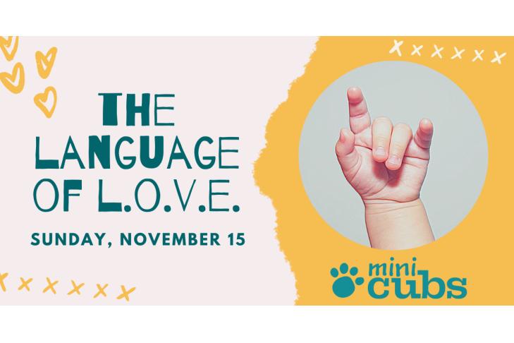 Language of Love mini Cubs