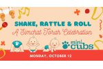 Shake Rattle Roll Simchat Torah Mini Cubs