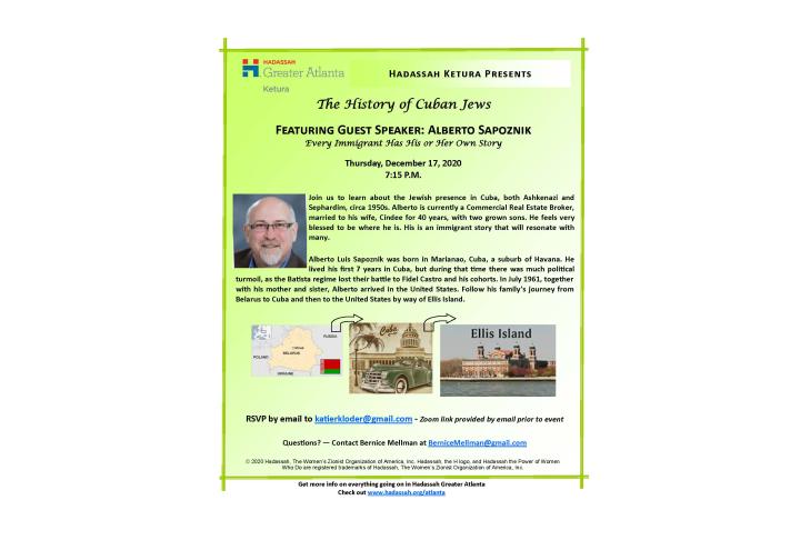Ketura_History of Cuban Jews