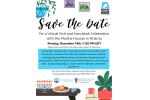 Save the Date - Atlanta Virtual Visit Hanukkah Celebration