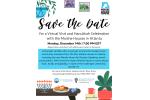 Save the Date - Atlanta Virtual Visit Hanukkah Celebration