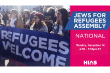 jews for refugees assembly