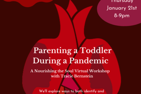 Parenting a Toddler During a Pandemic