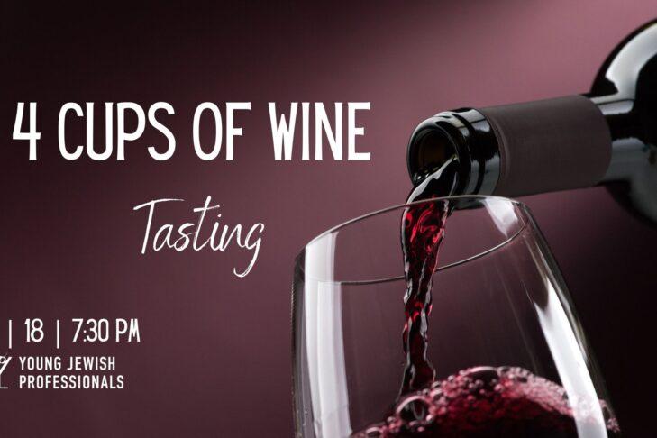 4 Cups Of Wine Tasting