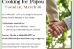 Cooking for Papou March