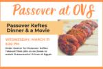 Passover Keftes Dinner Banner
