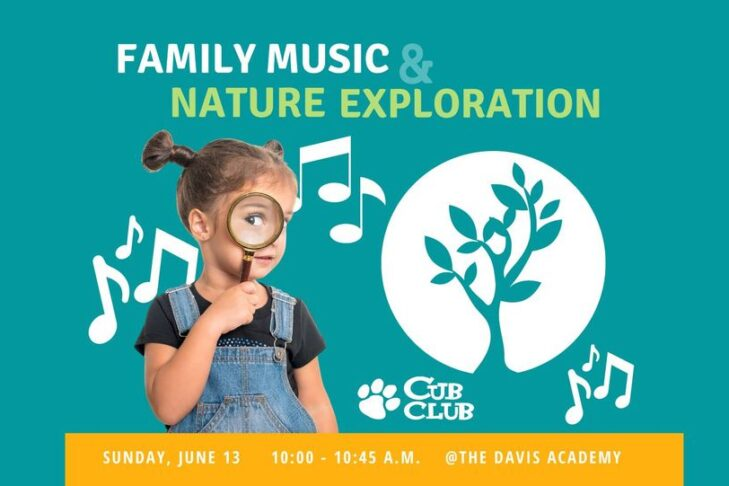 CAL_Cub Club Family Music & Nature Exploration June 13 June 15 2021