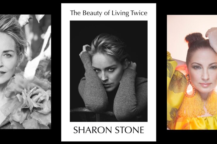 Event graphic sharon stone and gloria estefan