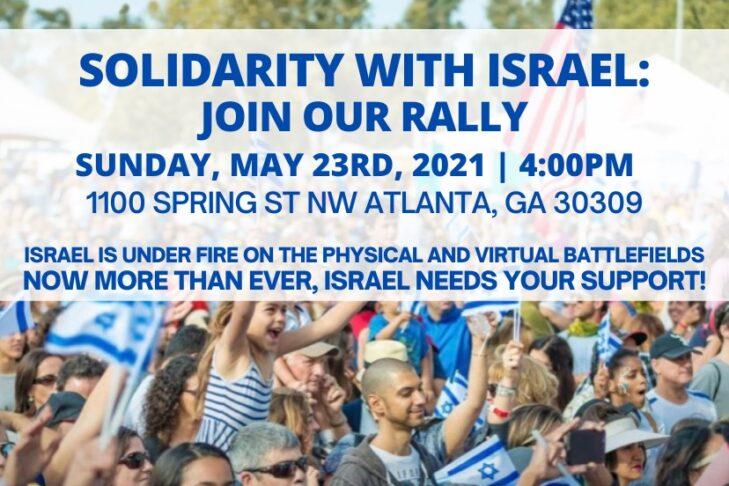 May 23-2021 Solidarity with Israel Rally