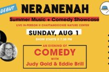CAL_ An Evening of Comedy with Judy Gold & Eddie Brill _ Aug 1 - July 30