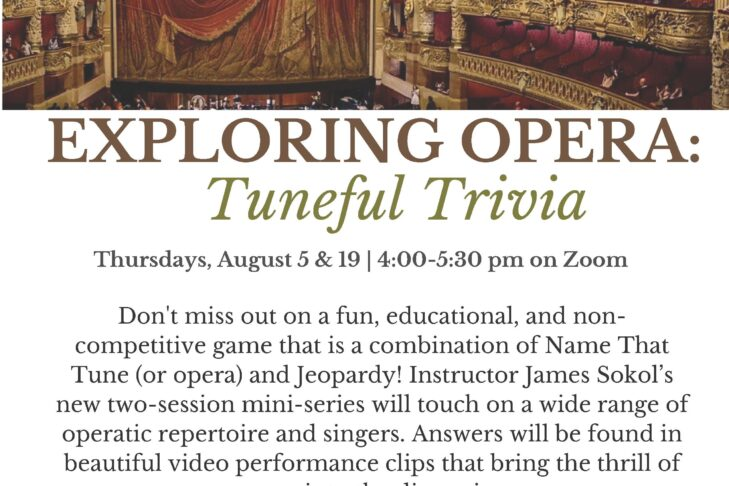 CAL _ Exploring Opera Tuneful Trivia 0819 August 15