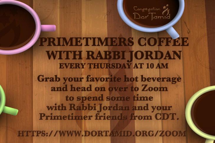 CAL_Prime Timers Coffee with Rabbi Jordan
