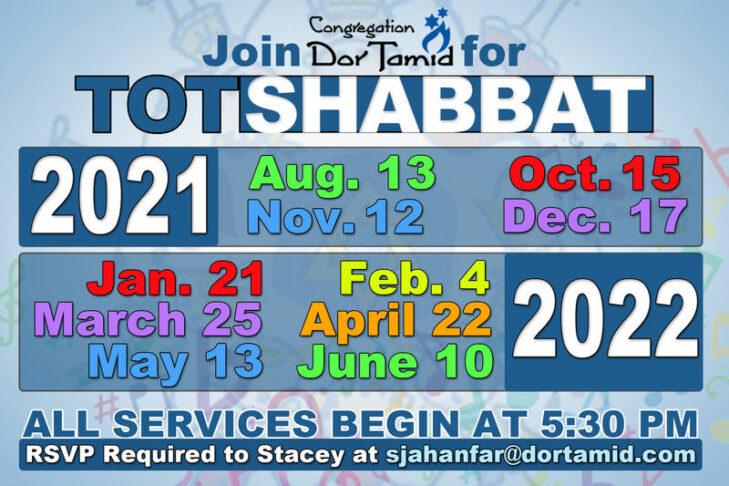 CAL_Tot Shabbat