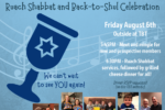 Ruach Shabbat and Back-to-Shul Celebration!
