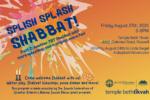 Splish Splash Shabbat B 2021