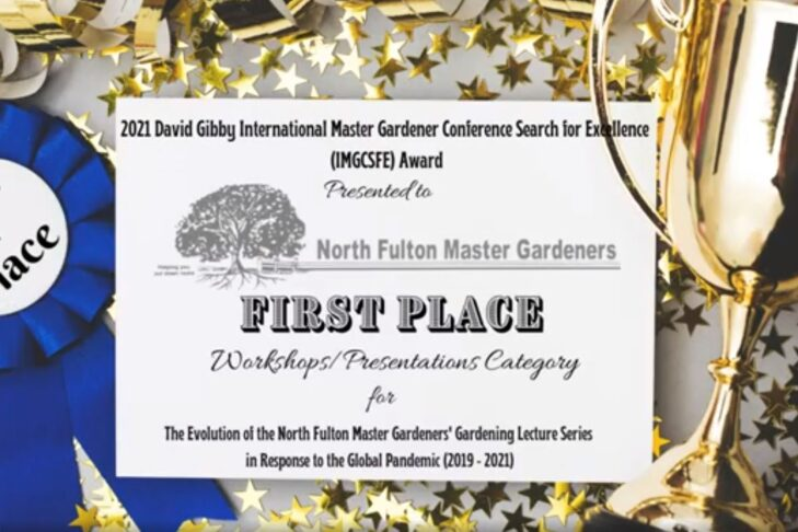Search4ExcellenceAward -FirstPlace