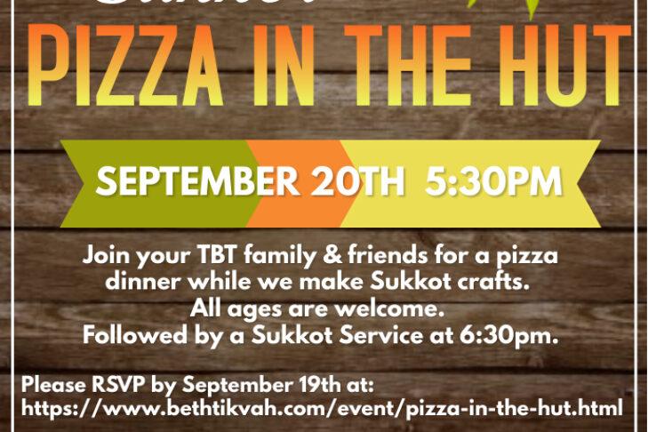 Pizza in the Hut
